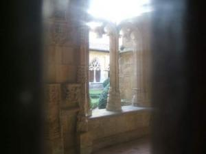 View the beautiful cloister