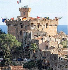 Castle old Cagnes