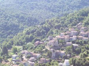 Le charmant  village de Carbuccia