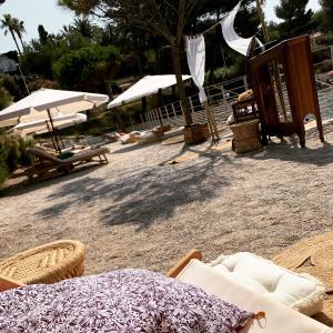 Beach Of The Calanque De Cap Rousset Leisure Centre In Carry Le