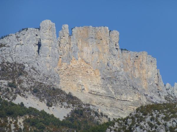 Rock of the Cadières de Brandis - Natural site in Castellane