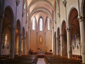 Inside the Saint church -Jean St. Louis