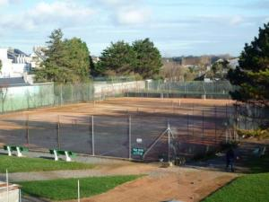 Tennis court of Cayeux-sur-Mer