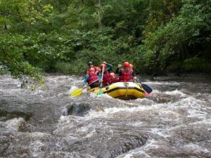 Rafting on the Chalaux
