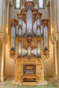 Big church organ