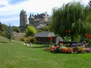 View of the castle of Châteaugiron