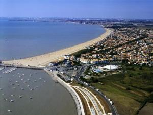 Aerial view of Châtelaillon-Plage