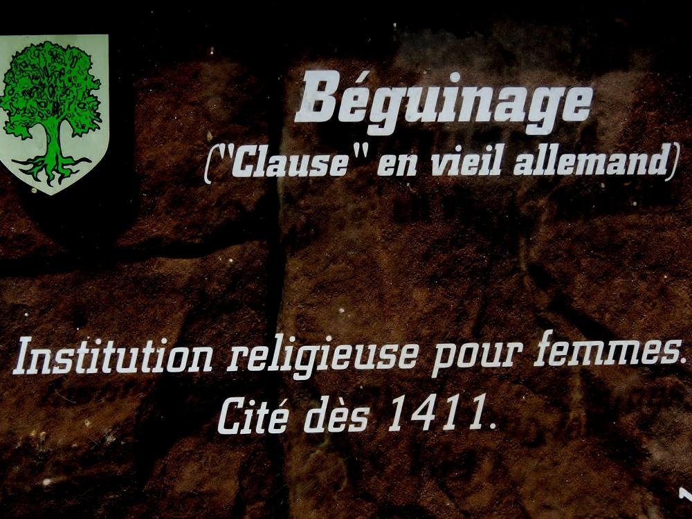 Châtenois - Information about the beguinage (© J.E)