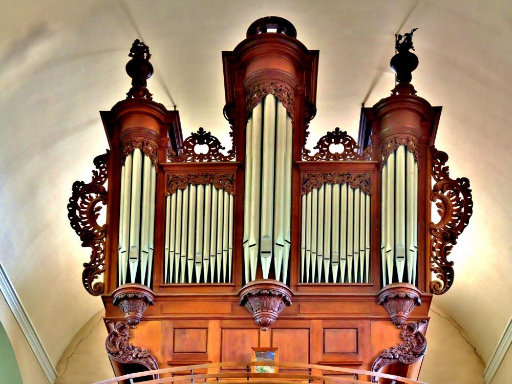 Châtenois - Organ of Silbermann (© J.E)