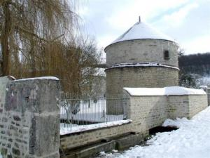 Chaumont-le-Bois in snow