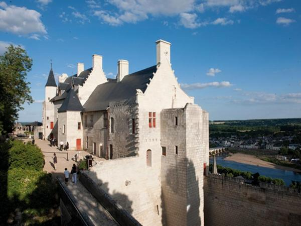 The royal lodgings, royal fortress of Chinon