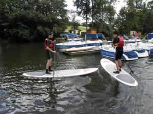Stand up paddle to Clécy in Suisse Normande