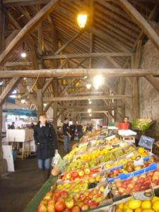 Clisson, the Friday market (Valley Clisson © OT)