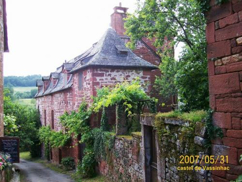 Collonges-la-Rouge - Castel Vassinhac