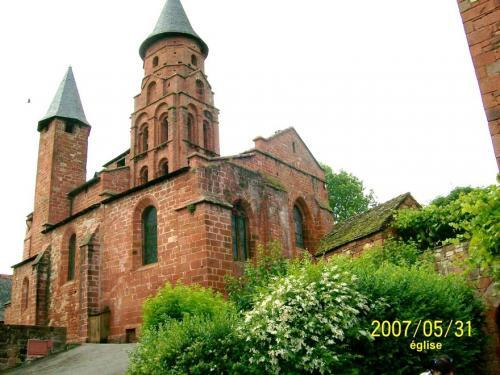 Collonges-la-Rouge - Kirche