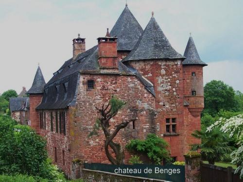 Collonges-la-Rouge - Schloss Benges