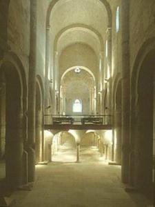 Interior Cruas Abbey