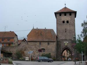 Entry of Dambach-la-Ville