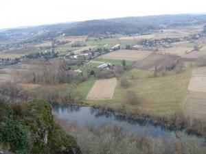 panoramic view of the Dordogne