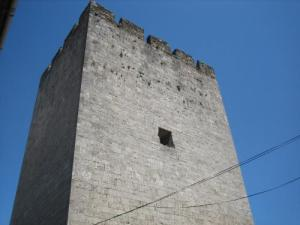 The medieval tower of the 12th century