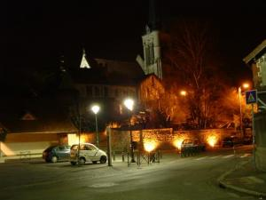 Fontenay by night