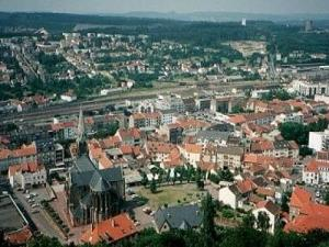 Forbach from the sky