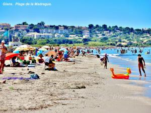 la Madrague Beach in late July (© Jean Espirat)