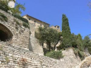 in the village of Gordes