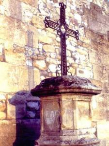 The Cross of Calvary made by Mr Louis Polart, blacksmith
