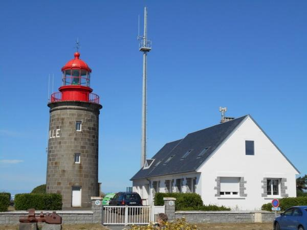 Lighthouse of the Cap Lihou - Monument in Granville