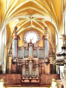 the organ of the Basilica (© JE)
