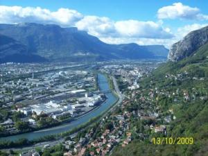 Superb view of Grenoble!