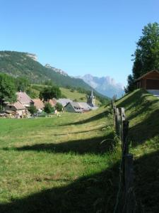 The village of Gresse-en-Vercors