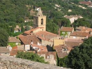 The medieval village of Grimaud