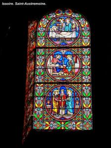 Stained glass window of St. Austell (© Jean Espirat)