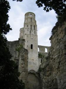 Abbey Jumièges: The Two Towers West