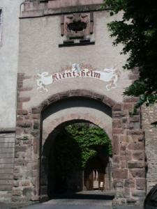 Kientzheim - city Entrance