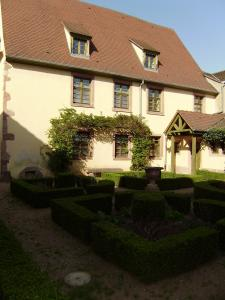 House Witches and medieval garden