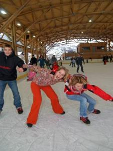 Patinoire de La Bresse (© Michel Laurent)