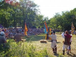 The Summer of Larzac The Cavalry - Grand medieval camp