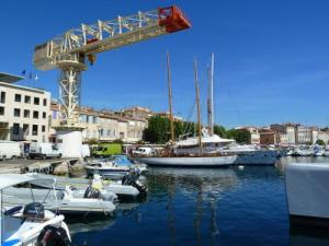 Crane owned shipyards La Ciotat