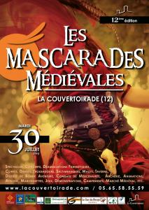 Poster Medieval Masquerades 2019