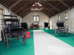 horse-drawn carriages Collection in the Vendée stud