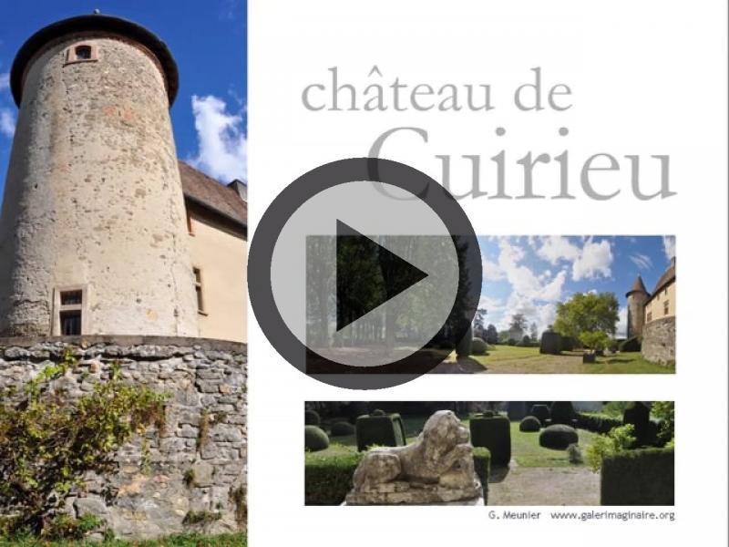 Ch teau de cuirieu monument la tour du pin for Piscine la tour du pin