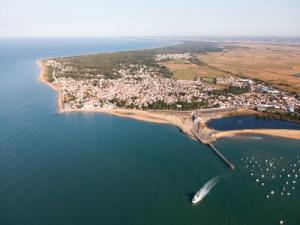 Aerial view of La Tranche-sur-Mer (© Fabrice Rault)