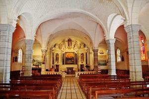 The interior of the Church of St. Joseph