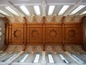 St. Ignatius Chapel - Ceiling Coffered