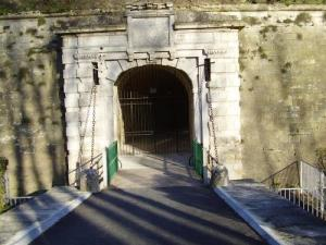 Gate of the citadel of Henry IV