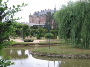 Public Garden and Castle Lapalisse