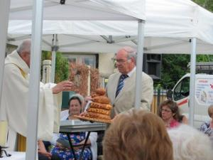 Ceremony bread at Mass Aug. 15 to Routis